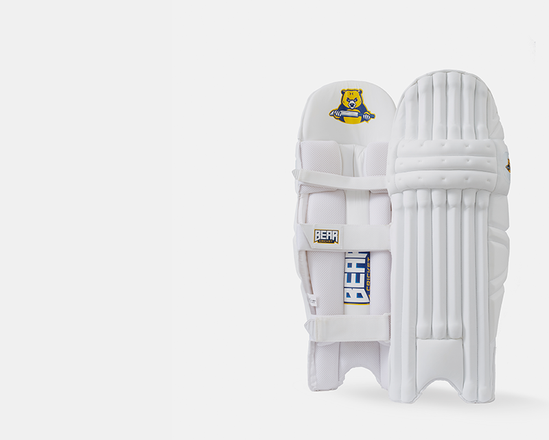 Bear cricket pads